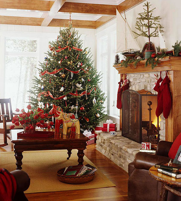 christmas spirit into your living room 10