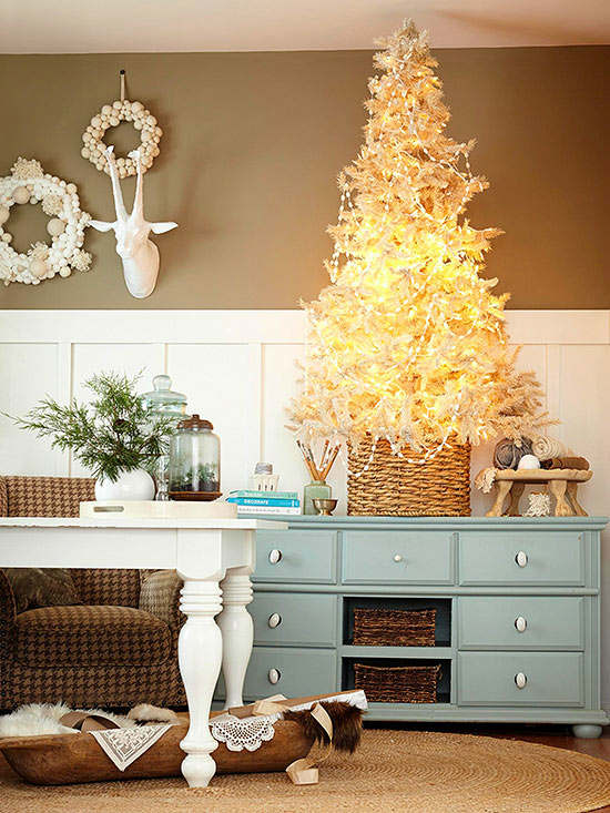 decorate your living room for christmas 4