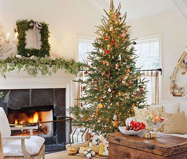 Christmas tree decorating ideas pinterest gravetics for Pinterest home decor xmas