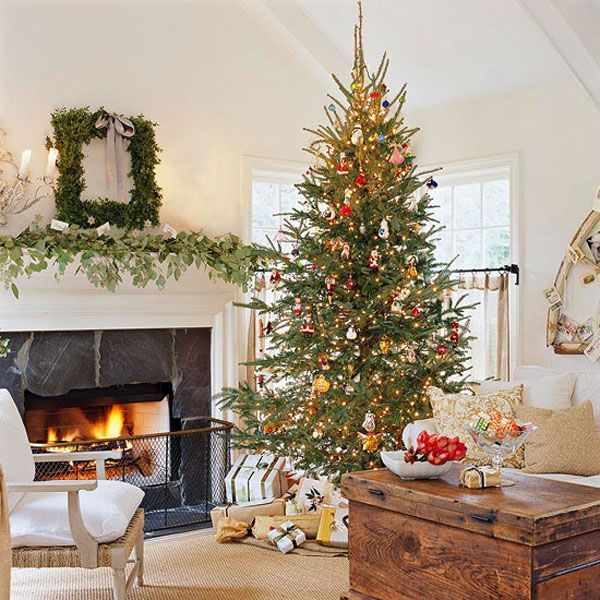 30 beautiful christmas tree decorating