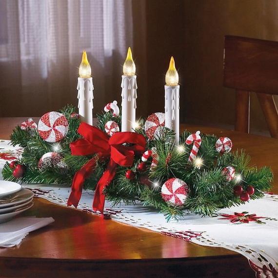 elegant christmas centerpieces ideas