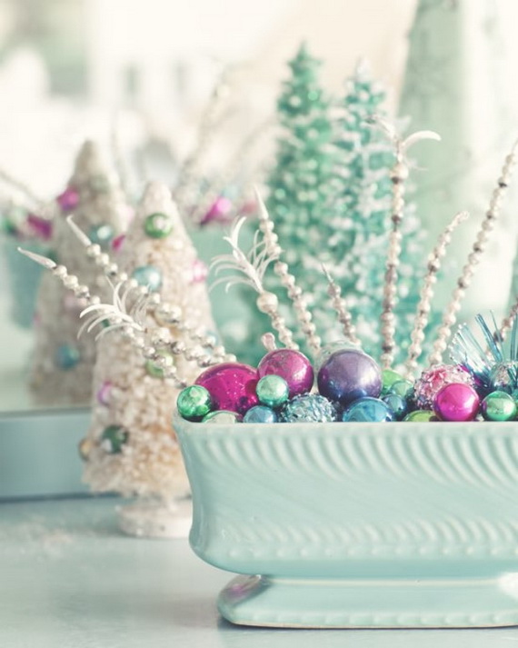 homemade christmas table decorations ideas