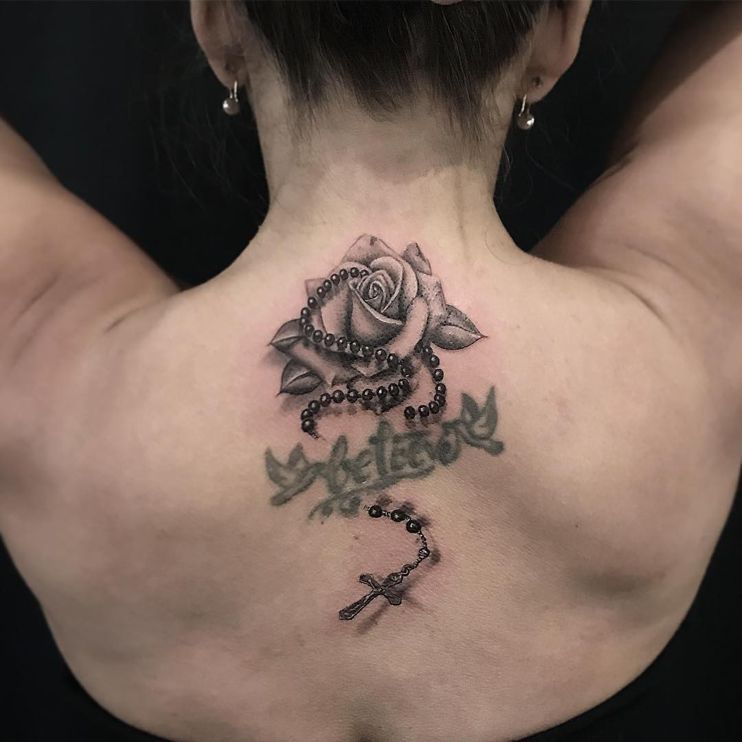 Tattoos For Women: 80 Cute and Amazing Back Tattoos For Women ...
