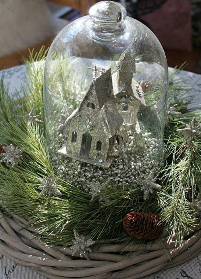 Decorating With Glass Cloches