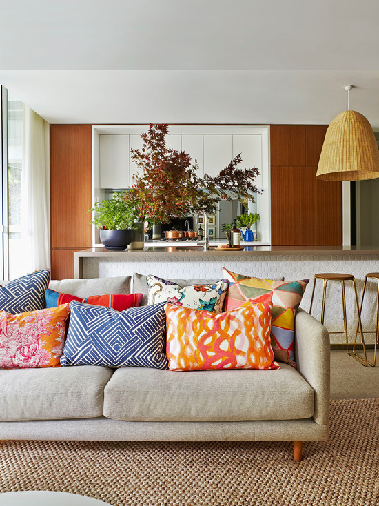 ... Bright Colorful Interior Art Apartment In Sydney ...