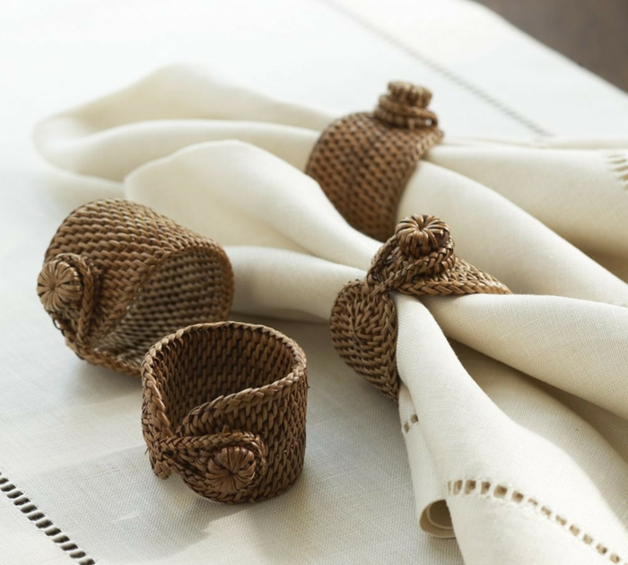 40 Diy Christmas Napkin Rings And Holder Ideas You Ll Love