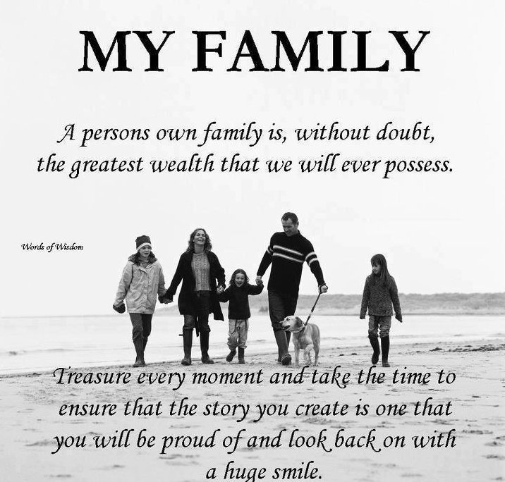 my family is my inspiration essay Life without them was hard, but even though life has put me and my family through hard times, we never stopped being a family death and write my essay for me.