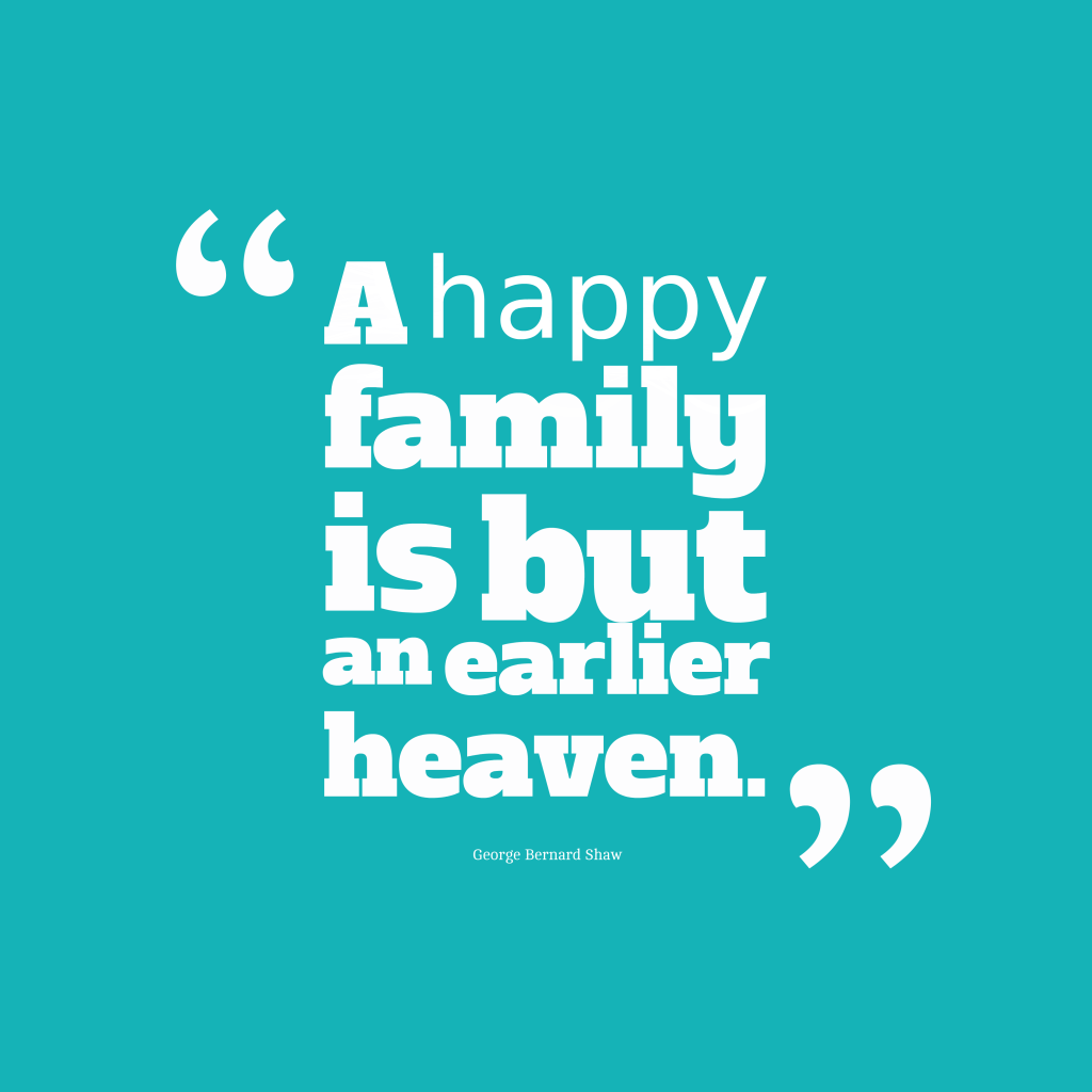 Quote about family