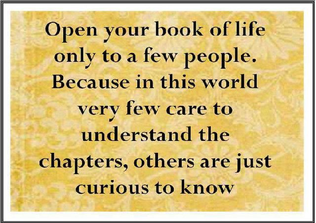 ... Open Your Book Of Life Only To A  ...