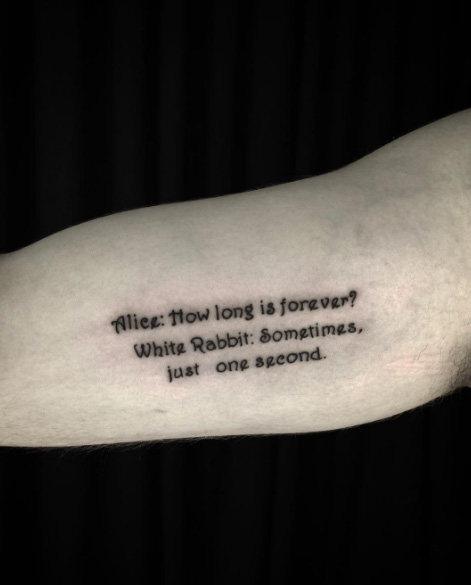 Make A Statement With 95 Of The Best Tattoo Quotes: 45 Stunning Tattoo Quotes That Will Inspire You To Have