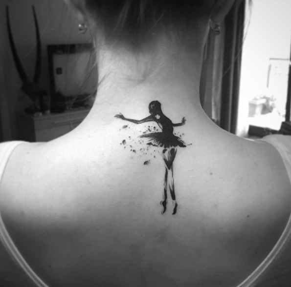 80 Awesome Back Neck Tattoo Ideas For Women - Gravetics
