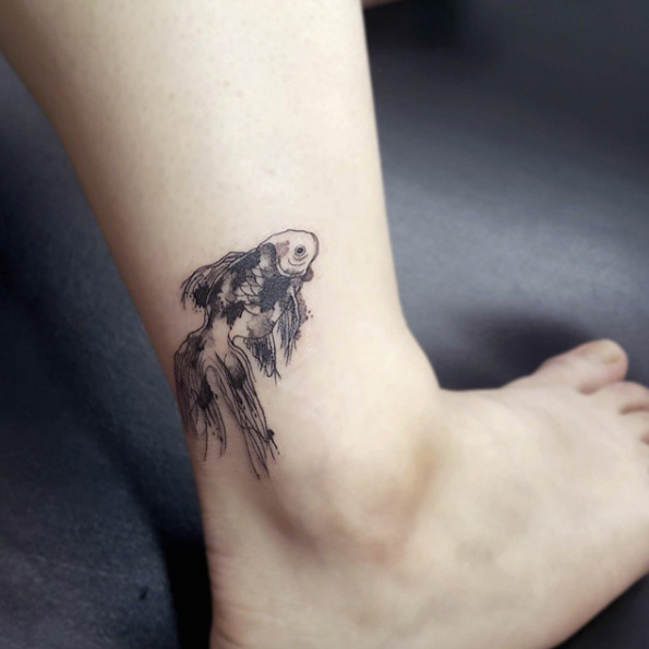 Top 80 Gorgeous Ankle Tattoo Design For Your Inspiration