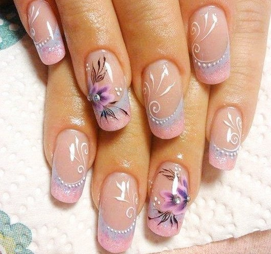 100 creative and unique nail art ideas and designs gravetics intricate nail art design prinsesfo Images