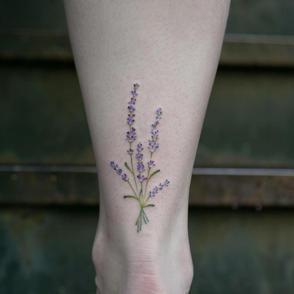 50+ Gorgeous Ankle Tat...