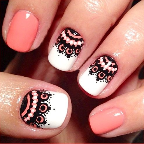 100 Creative And Unique Nail Art Ideas And Designs Gravetics