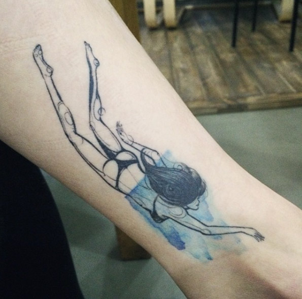 Permalink to Anchor On Ankle Tattoo