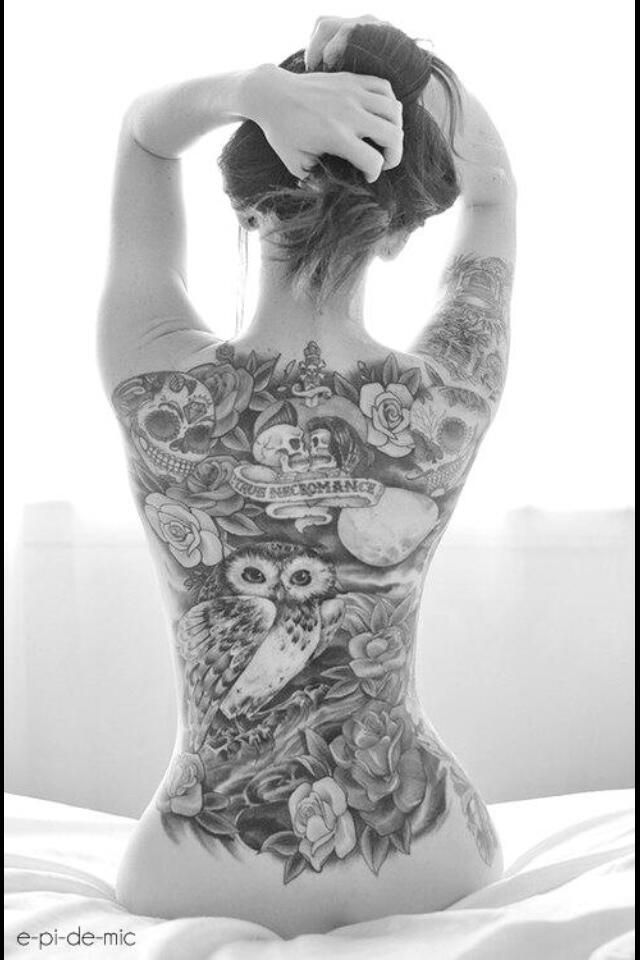 Tattoos For Women 80 Cute And Amazing Back Tattoos For Women