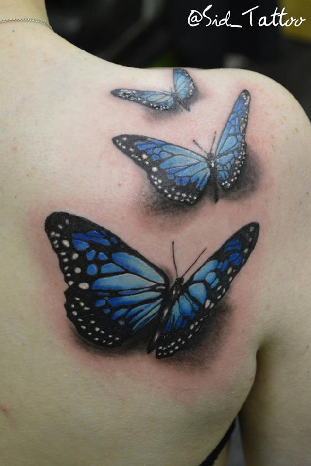 40 Creative Butterfly Tattoos For Inspiration Gravetics