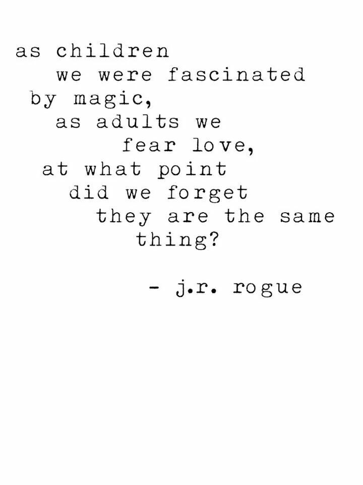 ... As Children We Were Fascinated By Magic ...