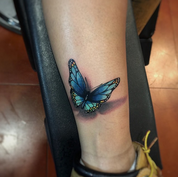 40 Creative Butterfly Tattoos For Inspiration