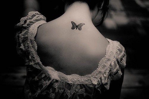 49a7c4abc Butterfly Tattoo Designs On Neck - Best Image Of Butterfly Imagevet.Co