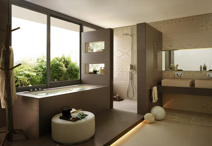 65 Stunning Contemporary Bathroom Design Ideas To Inspire Your Next ...