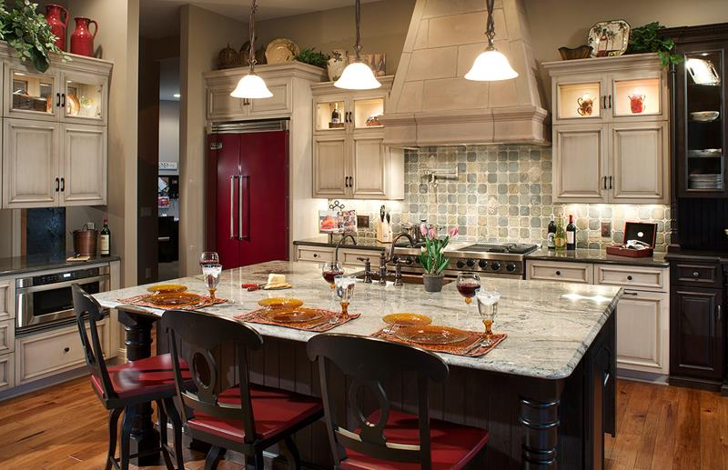 custom kitchen island ideas design