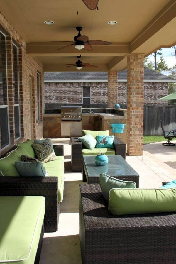 Outdoor Wall Decor Ideas Patio
