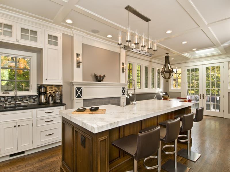 New Kitchen Island Designs kitchen island featuring sleek bar stools view in gallery. view in