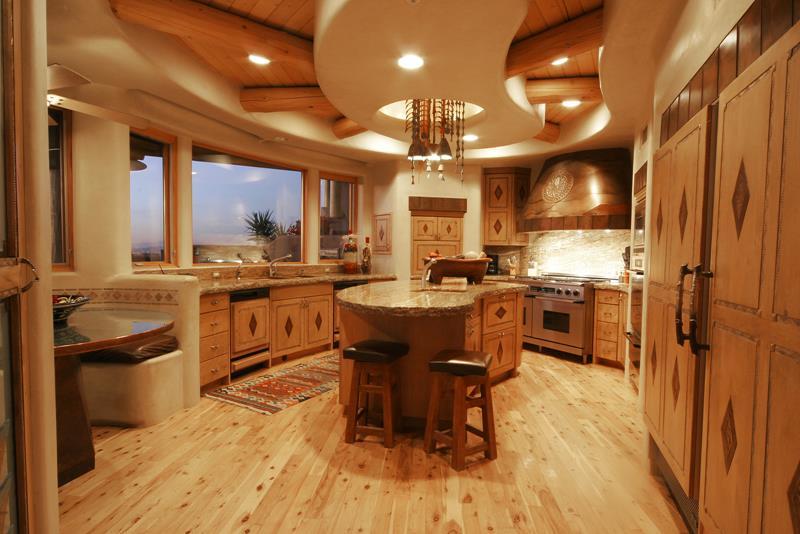 Своими руками дизайн кухни в частном доме 13