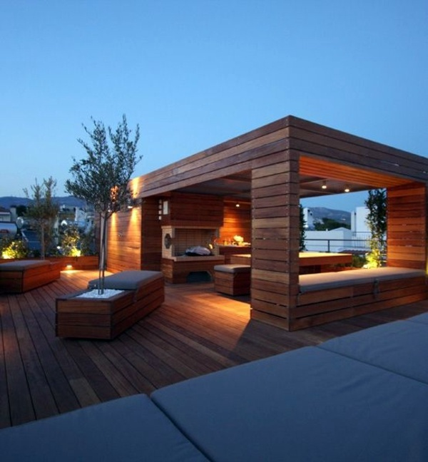 50 Beautiful Home Rooftop Terrace Design Ideas