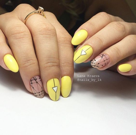 Each of these designs is very stylish look in summer. So do not be afraid  to experiment, to try something new for yourself and go beyond even in the  choice ... - 65 Creative Summer Nail Design Ideas For 2017