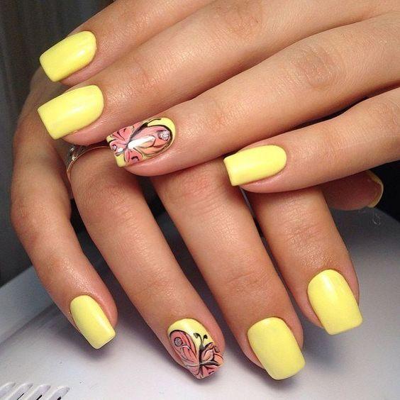 Source: www.pinterest.com - 65 Creative Summer Nail Design Ideas For 2017