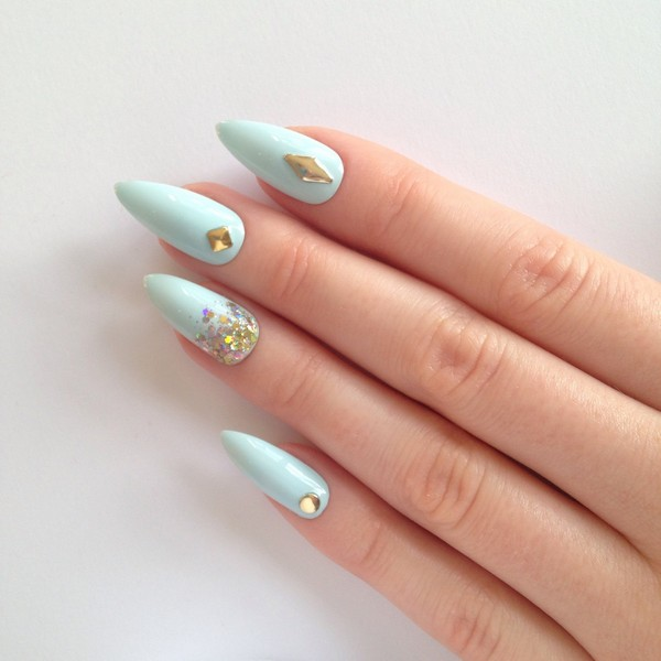 Home Design Ideas For 2019: 35 Stunning Pointy Nail Designs That You Want To Try