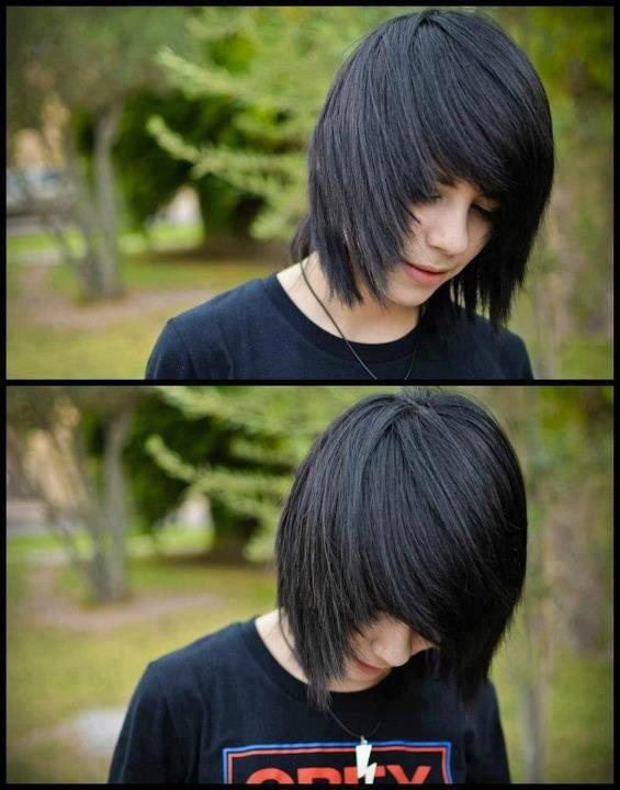 Fabulous Emo Hairstyles For Men Gravetics - Emo boy hairstyle images