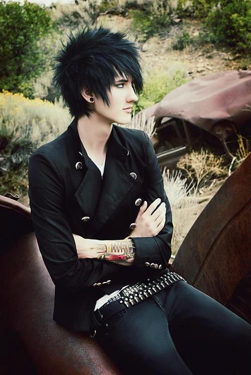 fabulous emo hairstyles  men gravetics