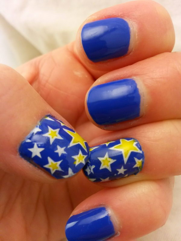40 Beautiful Star Nail Art Designs And Ideas For 2019 Gravetics