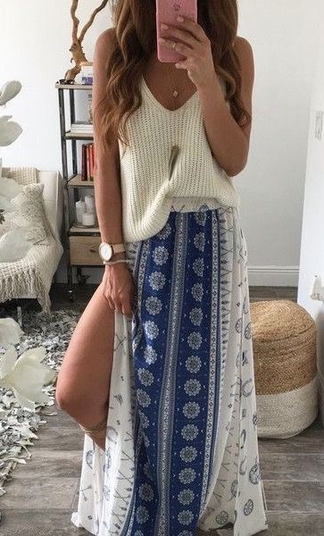 aa3dc37ad2 35 Adorable Bohemian Fashion Styles For Spring Summer 2018 19 ...