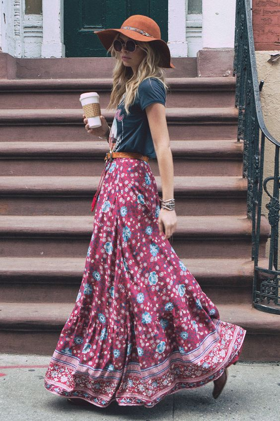 35 Adorable Bohemian Fashion Styles For Spring Summer 2018