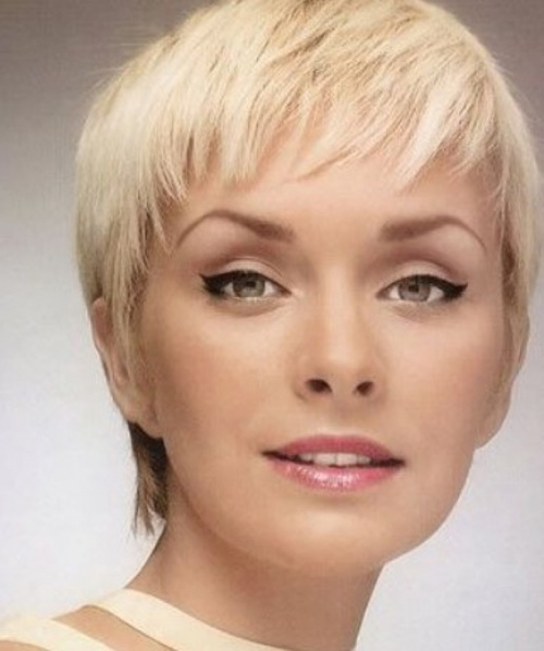 Pixie Hairstyles For Heart Shaped Faces 2017 Famous Hair Style 2018