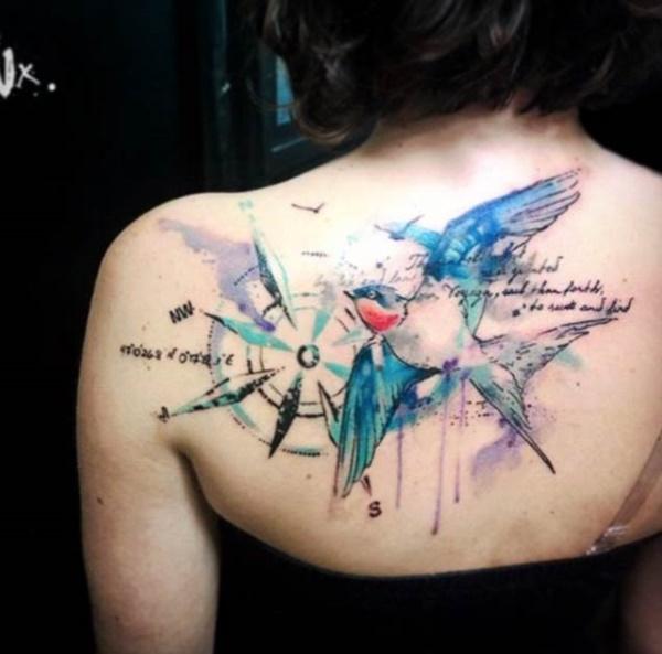 42 Stunning Coordinate Tattoo Design Ideas You Won't Regret