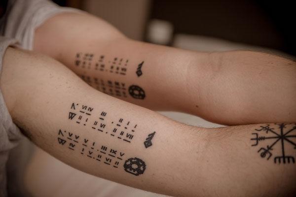 a4a920d18a4b4 42 Stunning Coordinate Tattoo Design Ideas You Won't Regret