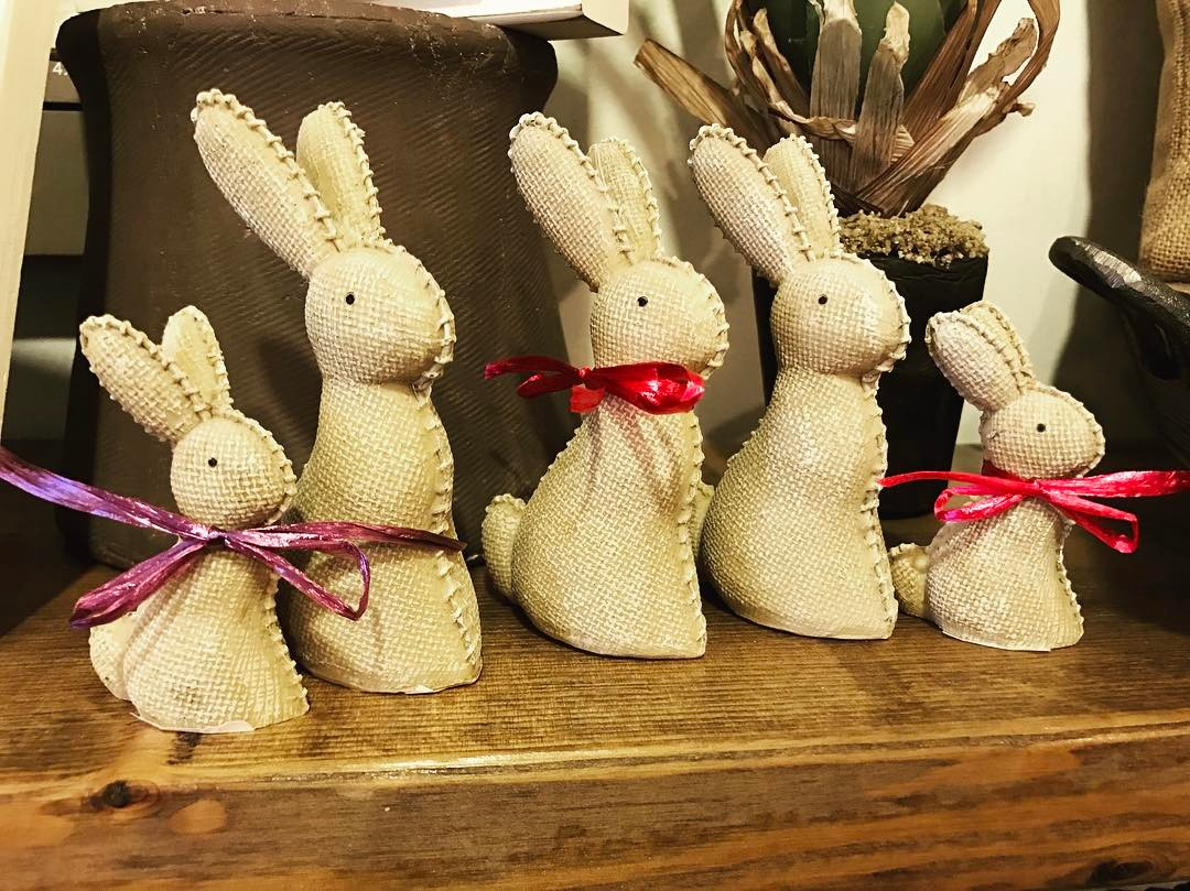 happyspring firstdayofspring springtime bunnies easter easterdecor easterbunny
