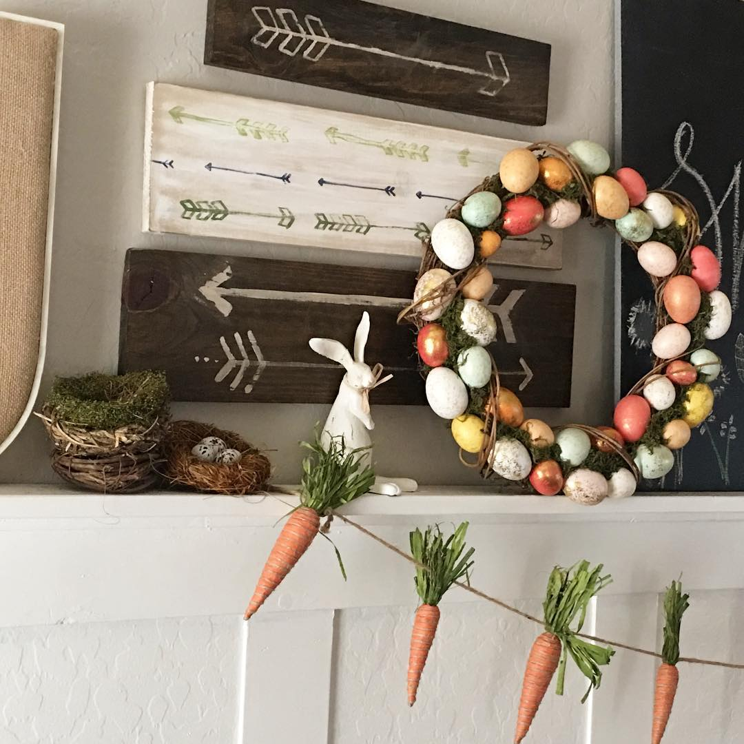 40 Cute Rustic Decor Ideas For A Cozy Easter