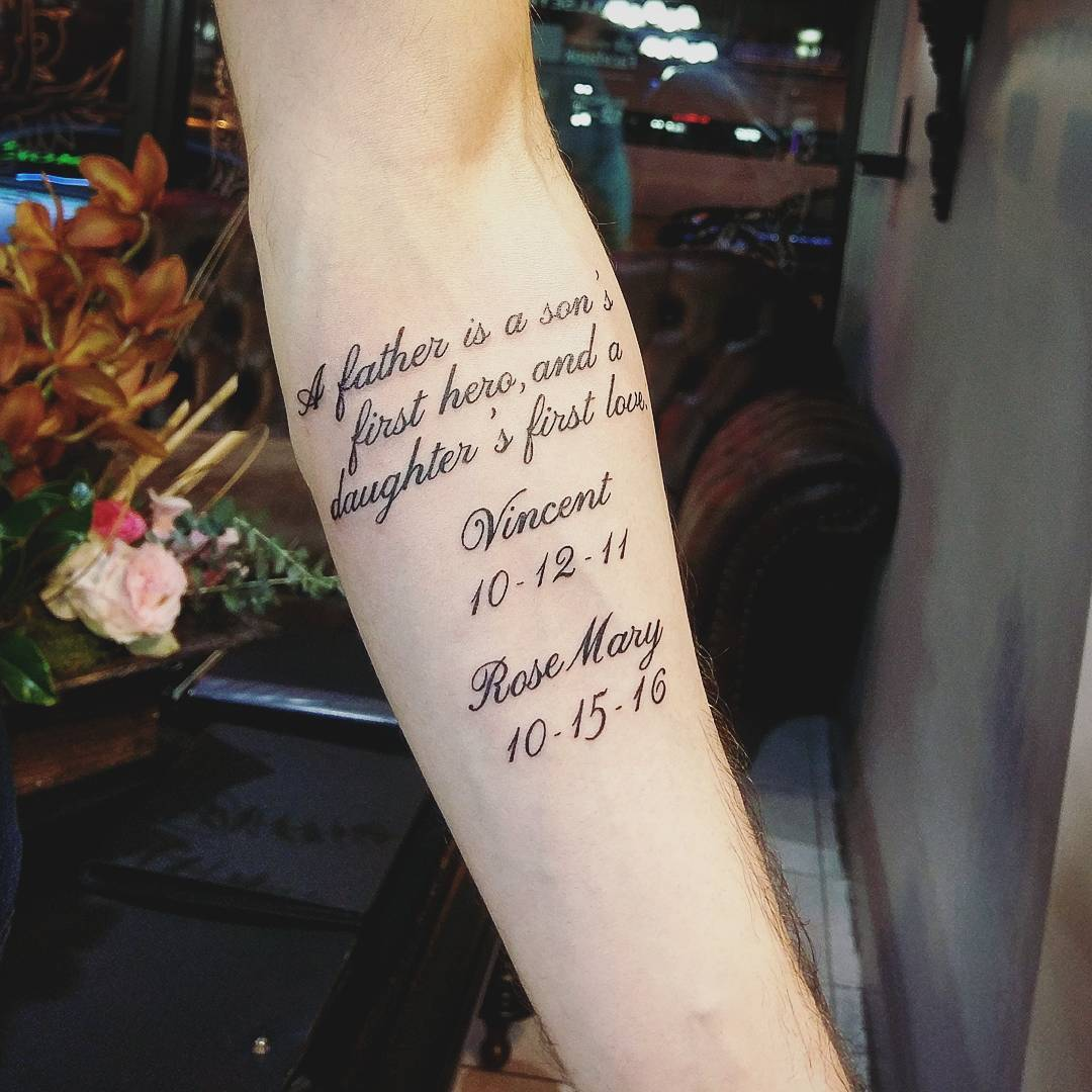 Be Motivated With 55 Inspirational Quote Tattoos For Girls