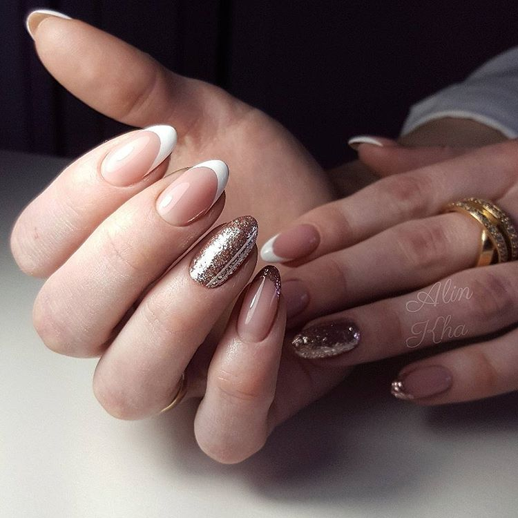 45 awesome french manicure designs to try and remain in style french manicure designs urmus Image collections