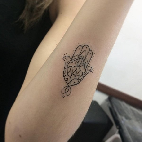 Hamsa Tattoos Designs Ideas And Meaning: 35 Embody The Symbol Of Protection With These Hamsa Tattoo