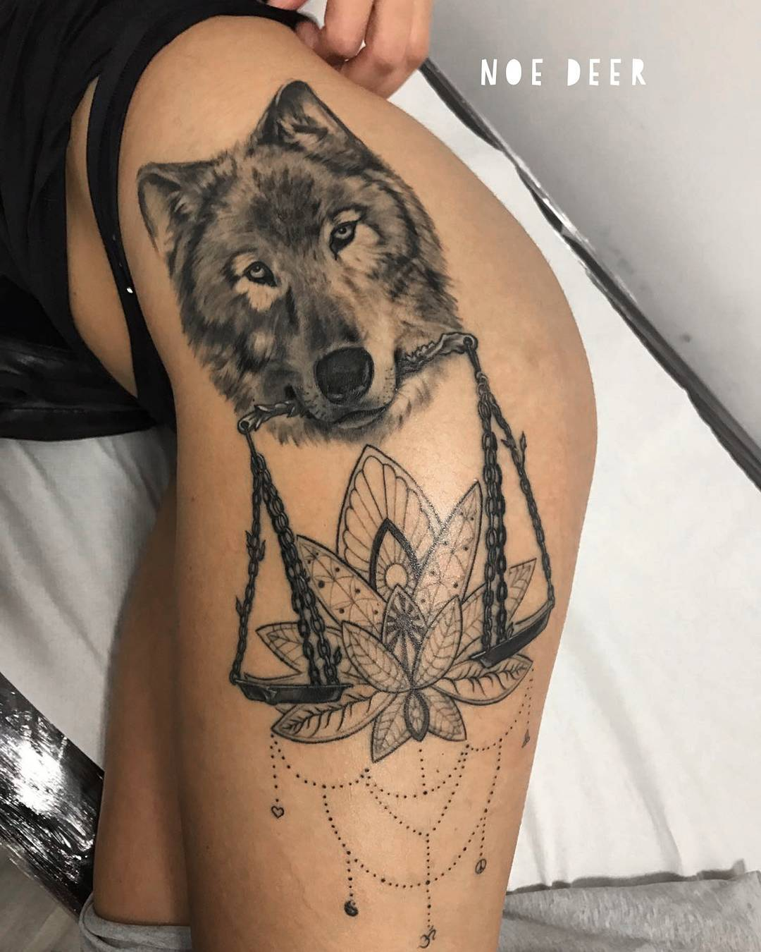 Tattoo Ideas Images: 50 Make A Powerful Style Statement With Wolf Tattoos Ideas