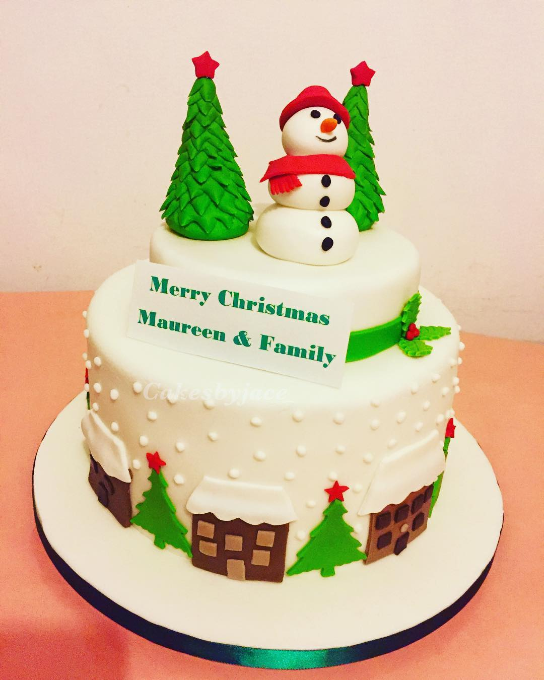 Holiday Cake Ideas Easy