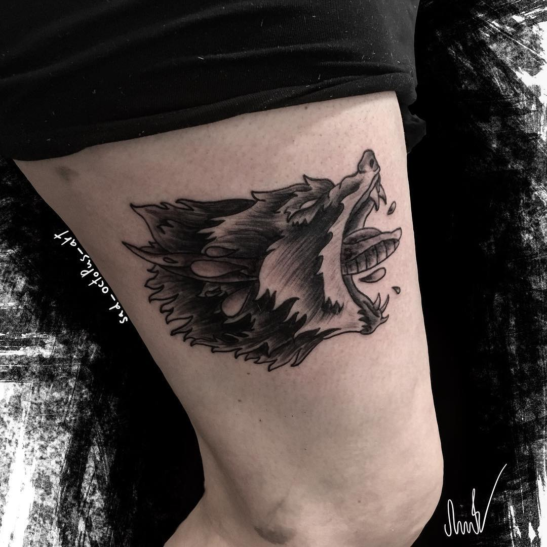 Tattoo Art Black And White: 50 Make A Powerful Style Statement With Wolf Tattoos Ideas